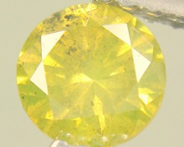 NATURAL YELLOW DIAMOND-1.5MMSIZE--1PCS,NORESERVE