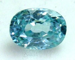 BLUE ZIRCON FACETED STONE 1.60 CTS  PG-1123
