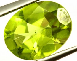 PERIDOT FACETED STONE 1.70 CTS PG-961