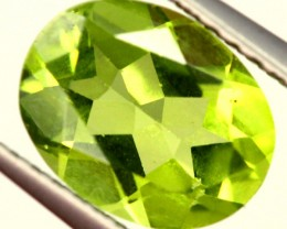 PERIDOT FACETED STONE 1.90 CTS PG-968