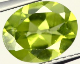 PERIDOT FACETED STONE 1.70 CTS  PG-958