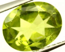 PERIDOT FACETED STONE 1.90 CTS PG-959