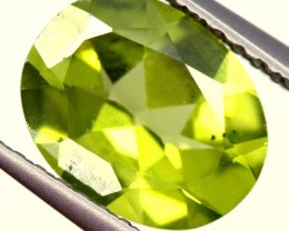 PERIDOT FACETED STONE 1.55 CTS PG-969