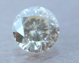 NAT-SOLITIARE-TINTED WHITE DIAMOND-6MMSIZE-0.90CTWSIZE,1PCS,NR
