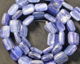 KYANITE BEADS  -BRAZIL 217.10 CTS [ST6185]
