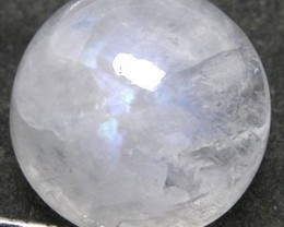 MOONSTONE RAINBOW 2.95 CARAT WEIGHT ROUND CUT CABOCON GEM NR