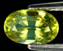 1.03ct VVS Natural Greenish Yellow CHRYSOBERYL Africa