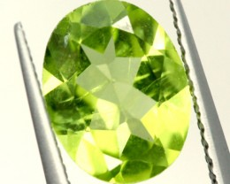 PERIDOT FACETED STONE 1.70 CTS PG-926