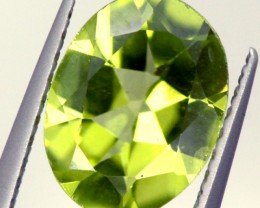 PERIDOT FACETED STONE 1.55 CTS PG-929
