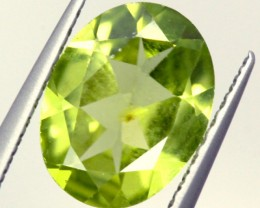 PERIDOT FACETED STONE 1.50 CTS PG-930