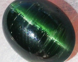 TOURMALINE GREEN CATS EYE 8.75 CTS [ST6777]