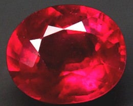 2.13 Carat VVS/VS Flashy, Fiery Ruby