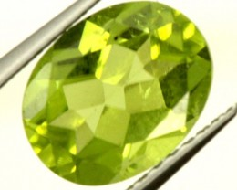 PERIDOT FACETED STONE 2 CTS PG-913
