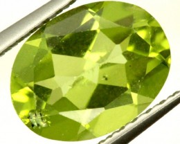 PERIDOT FACETED STONE 1.80 CTS PG-915