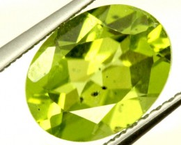 PERIDOT FACETED STONE 1.95 CTS PG-916