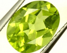 PERIDOT FACETED STONE 1.90 CTS PG-917