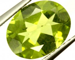 PERIDOT FACETED STONE 1.55 CTS PG-918