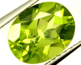 PERIDOT FACETED STONE 2.20 CTS PG-920
