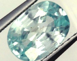BLUE ZIRCON FACETED STONE 1.25 CTS  PG-1063