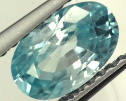 BLUE ZIRCON FACETED STONE 1.05 CTS  PG-1061