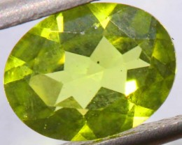 PERIDOT FACETED STONE 1.90 CTS PG-664