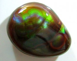FIRE AGATE CUT STONE 10.90 CTS FP-1568 (PG-GR)