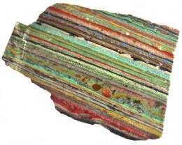 RAINBOW CALSILICA SLAB 84.15 CTS [F2658]