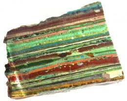 RAINBOW CALSILICA SLAB 55.05 CTS [F2667]