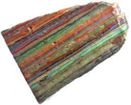 RAINBOW CALSILICA SLAB 43.70 CTS [F2671]