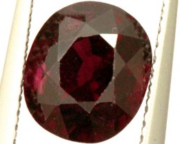 GARNET FACETED STONE 3 CTS PG-908