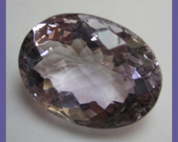 DELIGHTFUL, CHECKERBOARD TABLE, 46.50CT PINKY MAUVE AMETHYST