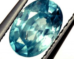 BLUE ZIRCON FACETED STONE 1.05 CTS   PG-1240