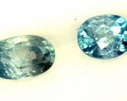 BLUE ZIRCON FACETED STONE 0.95 CTS  PG-1238