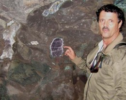 I visited the  Amethyst mine in may 20011