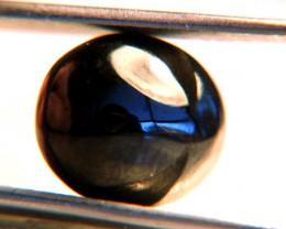 10.17 Carat Black Spinel Cabochon - Unusual