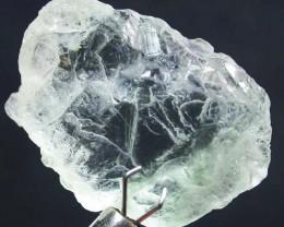 AQUARAMINE ROUGH  GREEN TINGE 18.95 CTS [F2902]