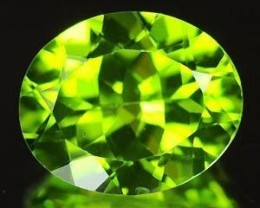 BEAUTIFUL NATURAL PERIDOT FROM BURMA...6X8mm