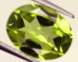 PERIDOT FACETED STONE 1.90 CTS PG-821