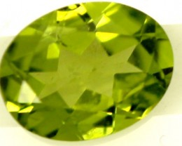 PERIDOT FACETED STONE 1.80 CTS PG-822