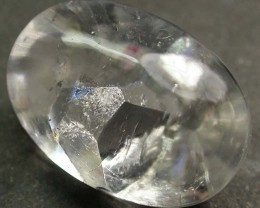 PURE QUARTZ CRYSTAL GROWING IN CRYSTAL 9.65 CTS [MX9167]