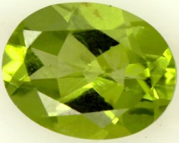 PERIDOT FACETED STONE 2.05 CTS PG-814