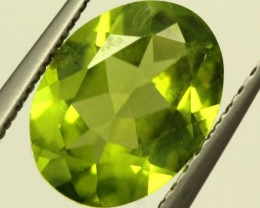 PERIDOT FACETED STONE 1.55 CTS PG-809
