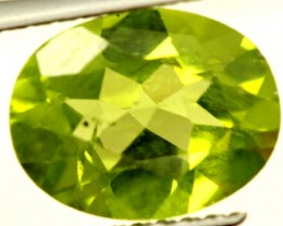 PERIDOT FACETED STONE 1.85 CTS PG-826