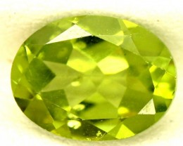 PERIDOT FACETED STONE 1.95 CTS PG-827