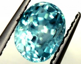 BLUE ZIRCON FACETED STONE 1.10 CTS PG-1245