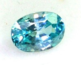 BLUE ZIRCON FACETED STONE 1.20 CTS PG-825