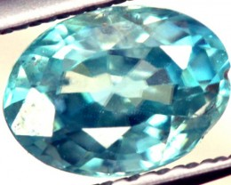 BLUE ZIRCON FACETED STONE 1.10 CTS PG-824