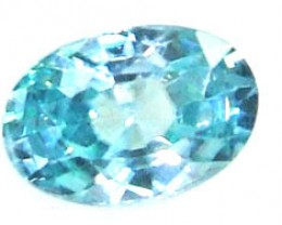 BLUE ZIRCON FACETED STONE CTS1.30  PG-1246