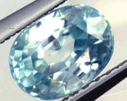 BLUE ZIRCON FACETED STONE 1.65 CTS  PG-1086