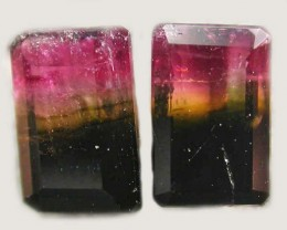 TOURMALINE  PAIR -RICH DARK BI  COLOUR 2.55 CTS [S5617]